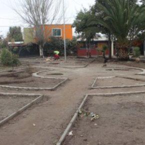 Construcción de plaza